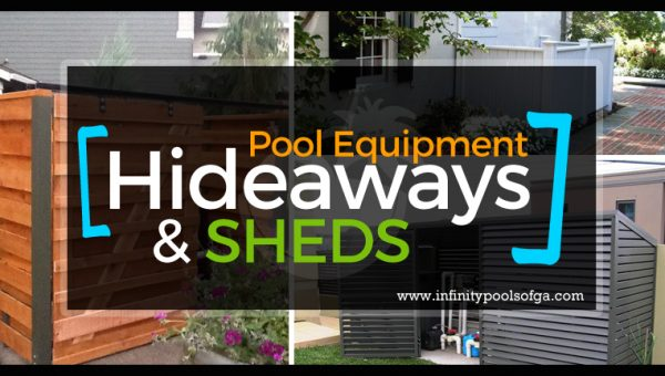 Pool Equipment/Pump Hideaways and Sheds