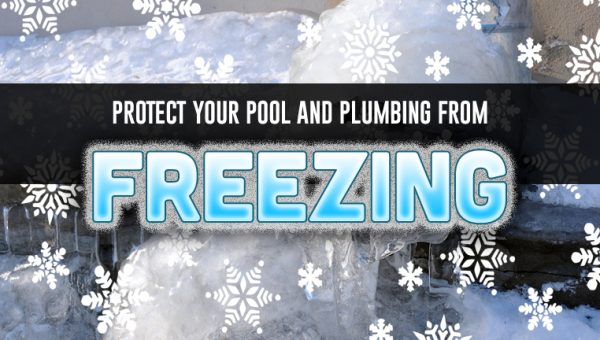 protect your pool from freezing