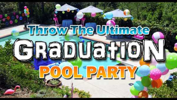 graduation pool party