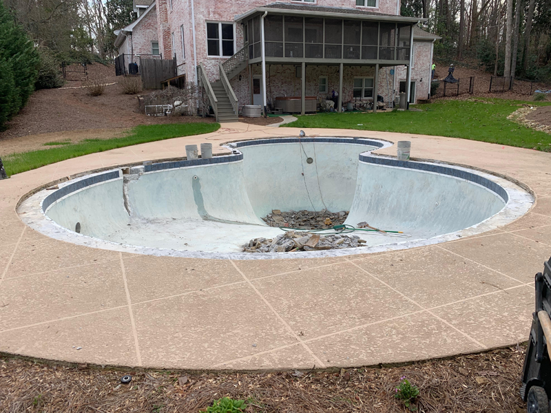 Evans Pool Renovation