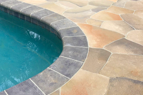 Pool Deck and Coping